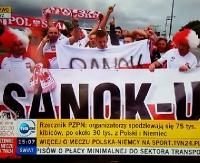 Sanoccy kibice na Euro 2016. Pomogli w starciu z mistrzami świata (FILM)
