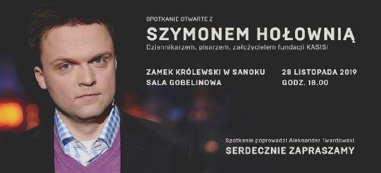 SANOK: Spotkanie z Szymonem Hołownią