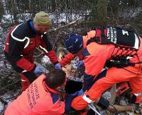 AKTUALIZACJA BIESZCZADY: Tragedia podczas prac w lesie. Pilarz zmarł w szpitalu