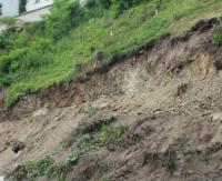 Intensywne opady deszczu na przełomie kwietnia i maja. Zagrożenie osuwiskowe w Karpatach