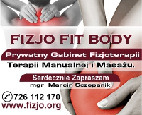 "Darmowe masaże i porady w ""FIZJO FIT BODY"" (FILM)"