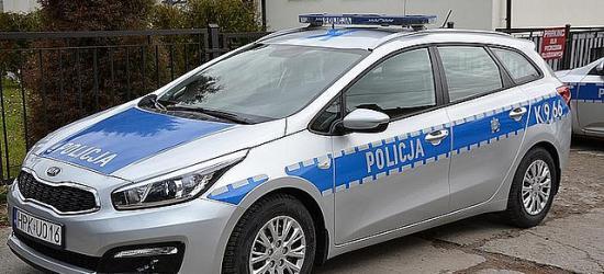 Nowy radiowóz dla bieszczadzkich policjantów