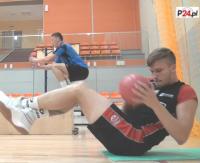 TSV trenuje przed startem I ligi. Jakub Zmarz znów na sanockim parkiecie (FILM)