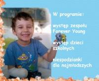 GMINA ZARSZYN: Koncert charytatywny dla Szymona