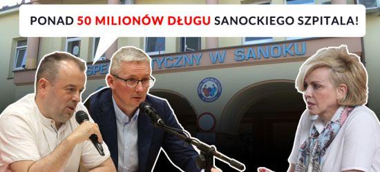 RADNY NIŻNIK: Ponad 50 milionów długu sanockiego szpitala! (VIDEO)