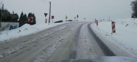 Trudne warunki na drogach! Uważajcie! (ZDJĘCIA)
