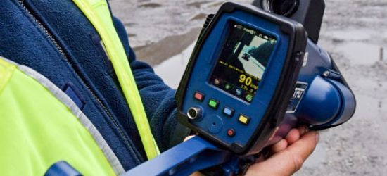 Mierniki prędkości są użytkowane przez policję zgodnie z przepisami