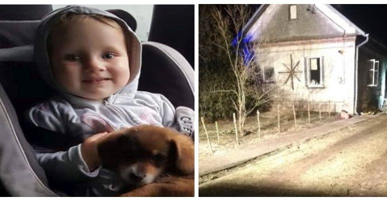 REGION: Pożar w Leżachowie. Zbiórka na leczenie oparzonej 2-latki