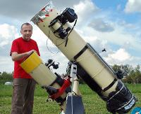 JAŚ WĘDROWNICZEK: Obrazy Kosmosu – fotograficzna podróż po Wszechświecie Mariusza Świętnickiego
