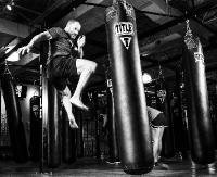 SANOK: Krew, pot i łzy. Wyczerpujące treningi zawodników Samuraja przed mistrzostwami Polski w kickboxingu (VIDEO Z WALK)