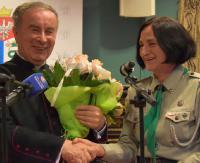 Sanok ma nowych honorowych obywateli. Zostali nimi ks. dr Andrzej Skiba oraz harcmistrz Krystyna Chowaniec (FILM, ZDJĘCIA)