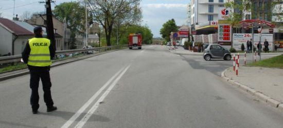REGION: Dramatyczny wypadek! Motocyklista stracił nogę… znieczulica świadków zdarzenia (VIDEO, FOTO)