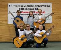 Sanoccy mistrzowie gitary z sukcesami w Kolbuszowej!