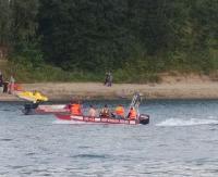 Tragedia na zbiorniku wodnym w Besku. Utonął 22-latek z powiatu brzozowskiego (ZDJĘCIA)