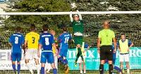 PIŁKA NOŻNA: Porażka Stali Sanok na sekundy przed końcem meczu (ZDJĘCIA)
