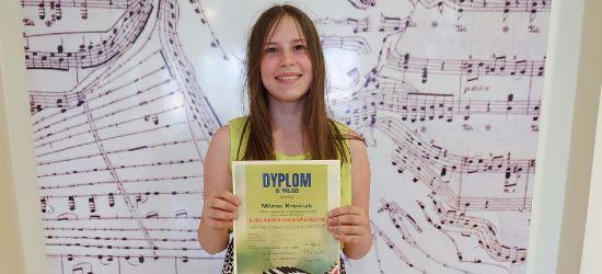 SANOK. Milena Krowiak na podium w X OgólnopolskimKonkursie Pianistycznym