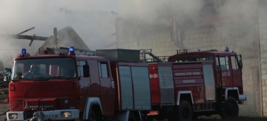 POWIAT BRZOZOWSKI: Pożar budynku mieszkalnego w Humniskach