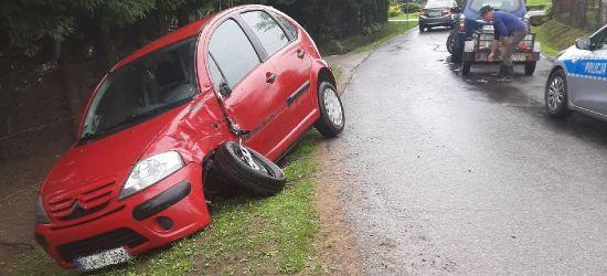 STRACHOCINA: Chwila nieuwagi i samochody porozbijane (ZDJĘCIA)