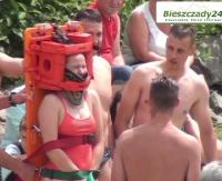 SOLINA: Pokazy ratowników wodnych i maraton pływacki, czyli Wielki Piknik Białej Floty (FILM)
