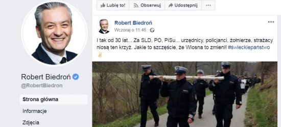 Robert Biedroń udostępnia post eSanok.pl i wzbudza ogromną dyskusję