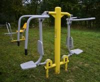 GMINA SANOK: Nowa siłownia na świeżym powietrzu (ZDJĘCIA)