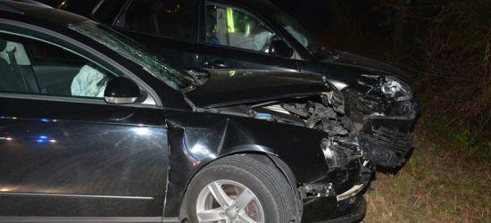 REGION. 4 osoby w szpitalu w tym małe dziecko. 3 rozbite samochody. Pijany sprawca (ZDJĘCIA)