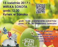 SANOK: Trzecie Śniadanie Wielkanocne dla mieszkańców miasta