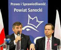 """Marek Kuchciński w Sanoku. """"Polska jest jedna"""" (FILM, ZDJĘCIA)"""