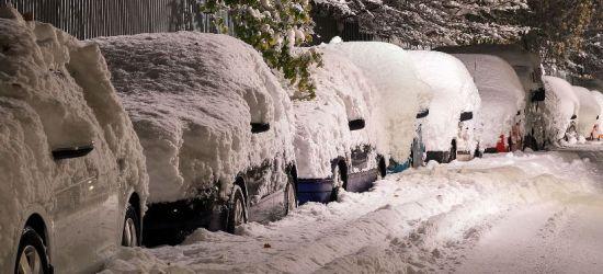 IMGW Ostrzega! Intensywny śnieg! 3 stopień dla powiatu sanockiego!