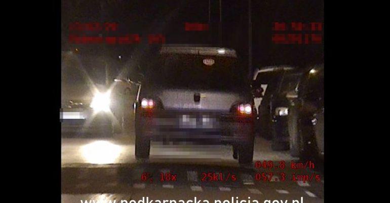 Sceny z filmu akcji w Rzeszowie. Policyjny pościg (VIDEO)