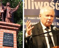NIEDZIELA: Jarosław Kaczyński pielgrzymuje do Strachociny. Działacze PiS u patrona Polski