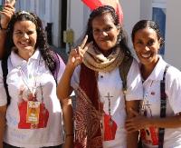 Uśmiechnięci, radośni i otwarci. Pielgrzymi z Timoru pokochali Sanok (ZDJĘCIA)