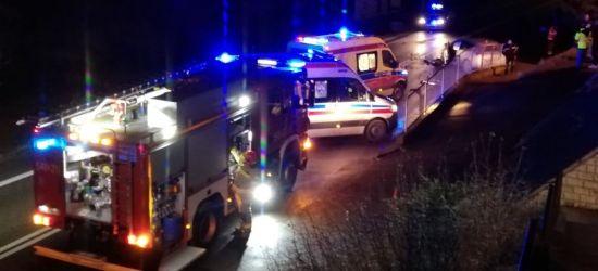 Wypadek w Pakoszówce. Droga była zablokowana! (VIDEO, ZDJĘCIA)
