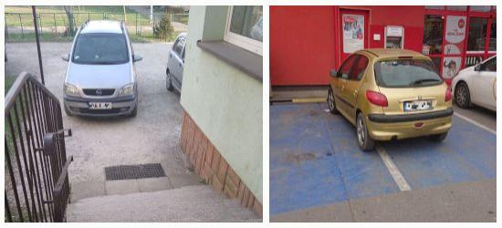 PARKOWANIE PO SANOCKU: Przed wejściem do przedszkola i na dwóch miejscach (FOTO)