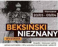 """""""Beksiński nieznany"""" z wizytą w Warszawie"""