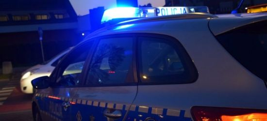 Kobieta traciła czucie w nogach. Policyjny pilotaż do szpitala