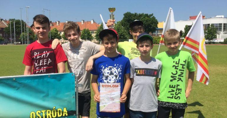 Siódme miejsce czwórboistów SP nr 1 Sanok podczas mistrzostw Polski (FOTO)