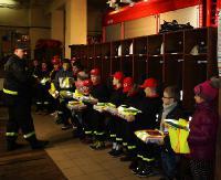 Młodzi strażacy z Zagórza otrzymali prezenty od ministra (ZDJĘCIA)