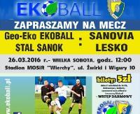 Z koszykiem na stadion. Ekoball Stal Sanok zagra z Sanovią Lesko