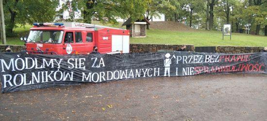 Jarosław Kaczyński w Strachocinie. Manifestacja w obronie rolników! (ZDJĘCIA)