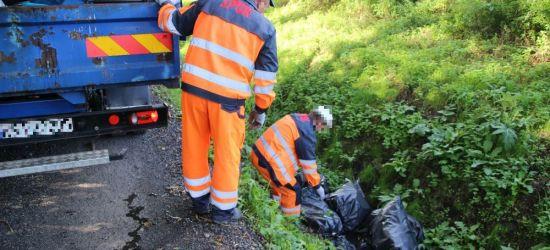 INTERWENCJA: Garnki, odzież, plecak i materiały budowlane. To znaleziono w śmieciach (ZDJĘCIA)