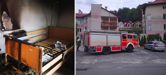 PODKARPACIE: Niebezpieczny pożar w Domu Spokojnej Starości (ZDJĘCIA)