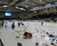 HOKEJ: W sobotę pojedynek z HK Sabinov. Na lód po raz kolejny polecą pluszaki