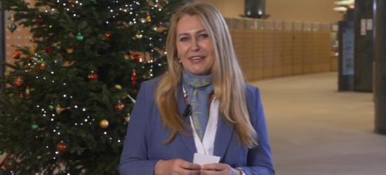 Życzenia świąteczne europoseł Elżbiety Łukacijewskiej (VIDEO)