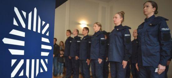 Mamy 20 nowych policjantów. Wśród nich 5 kobiet (ZDJĘCIA)