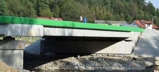 Most w Tyrawie Solnej prawie gotowy. Zobaczcie ZDJĘCIA