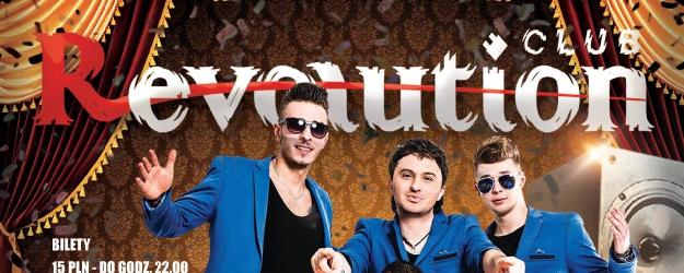NASZ PATRONAT: Revolution Club zaprasza na karnawałowy weekend. Zespół After Party na scenie!