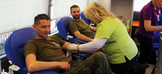 Terytorialsi z Podkarpacia oddali blisko 300 litrów krwi (FOTO)
