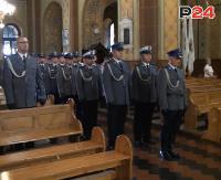 """""""Noszenie munduru to nie tylko chluba, ale i zobowiązanie"""". Mszą Świętą rozpoczęły się obchody Święta Policji (FILM)"""