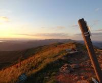 Wschód słońca w Bieszczadach. Zobacz wyjątkowe krajobrazy (ZDJĘCIA)